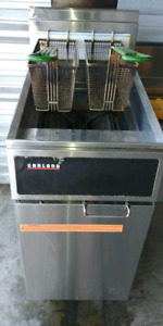 Garland propane fryer
