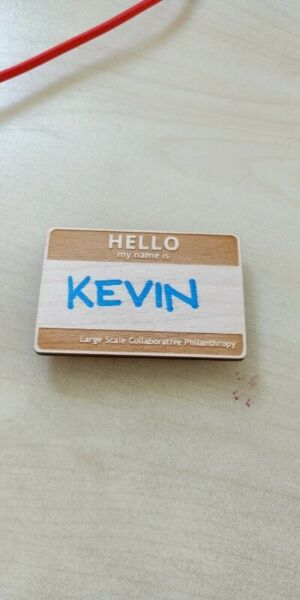 Wooden Name tags custom made and wooden key chains laser engraving name badge staff ID tag