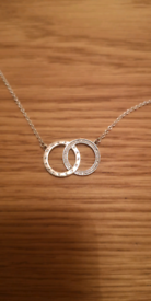 New Sterling silver Pandora Necklace