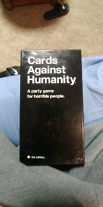 Cards against humanity. Hardly used. Mint