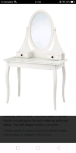 Ikea Hemnes dressing table mint condition