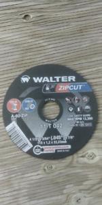"Cutting wheel walter 4 1/2"" pour boffeur zipcut"