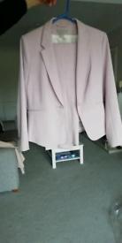 Light pink trouser suit H&M