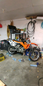 KTM SX 400 RACE BIKE