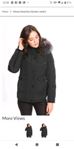 Brand new Moose Knuckles Womens Quebec Jacket