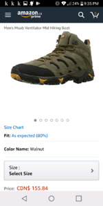 Merrell moab vent hiking boots
