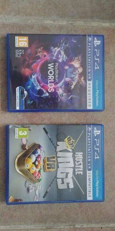 Playstation 4 VR games