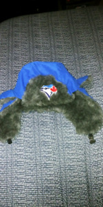 Toronto blue jays flapper winter hat