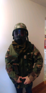 Paintball tactical airsport full gear set