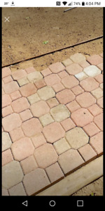 WANTED Interlocking pavers any color.
