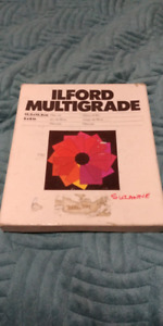 ILFORD MULTIGRADE 6X6 FILTER SET OF 12 - 00 TO 5