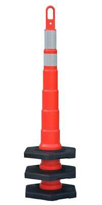 25 - 48 Looper Cone. Stackable. Traffic Safety. 25 - 16lb Bases 2 Reflective