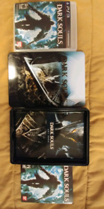 Dark souls limited edition hard copy with artwork!