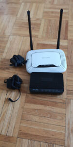 TP Link Wifi Router and DSL Modem