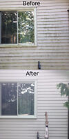 Windows, Siding, Soffit and Eavestrough Exterior Cleaning