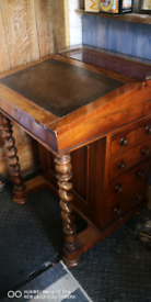 Old Davenport writing desk