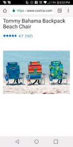ISO Tommy Bahama Beach Chairs