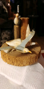 MINIATURE SEAGULL DISPLAY PIECE ONLY 7.00