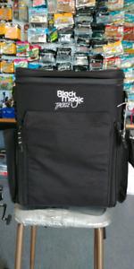 Fishing Tackle Backpack, Black Magic.