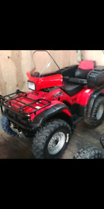 Honda Foreman 450 es 2002 electric shift 6400km