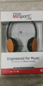 Wireless MiiSportC Bluetooth headphones