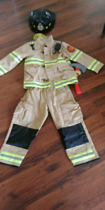 Firefighters Kids costume 5-6years