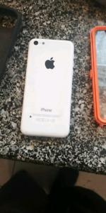 iPhone 5c blanc 16go nego