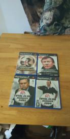 4 ps2 games