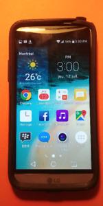Cellulaire LG G5 presque neuf, 32 Gigs avec étui, écran chargeur