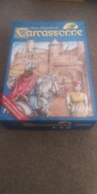 Carcassonne board game - excellent condition
