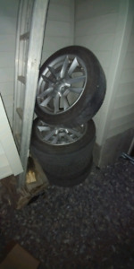 Rims and all season tires 245/45/R18