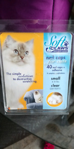 Clear cat claw covers..NEW in box