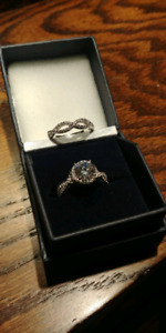 Engament Ring and Bridal Ring set