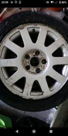 Audi 5x112 16inch alloys wheels