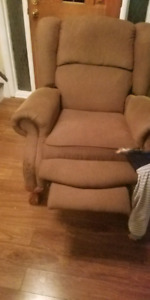 Single sofa with relaxation