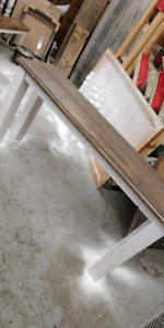 handmade sofa table *brand new* 65x33x16.5