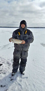 Frabill ice fishing suit