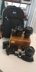 Nikon D5200 24MP DSLR Bundle