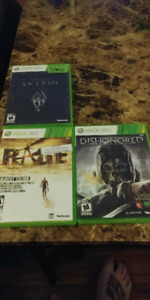 Xbox 360 games open to trades and offers