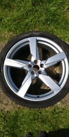 Audi 21 inch sport alloy wheel