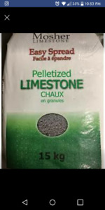 Lime (pelletized)