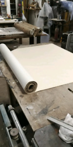 Commercial wall paper with canvas back