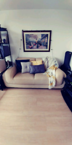 Beautiful Leather Couch