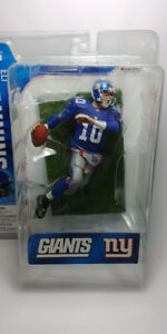 ELI MANNING McFarlane Action Figure 2006 NFL Series 13 New York