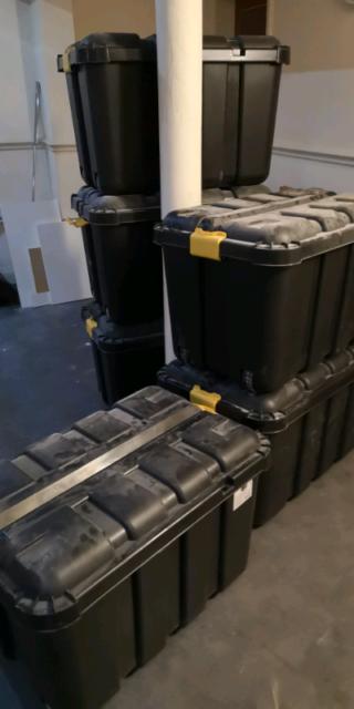 4b8952bc 7 * B&Q storage boxes skyda 149l | in Salford, Manchester | Gumtree