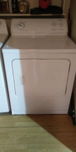 Kenmore 600 series Dryer and Moffat washer$250.00