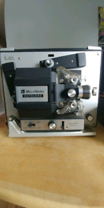 Bell & Howell 8mm film projector.