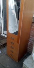 Tall storage drawer