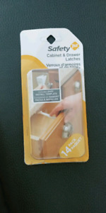 Safety 1st cabinet & drawer latches 14 pack