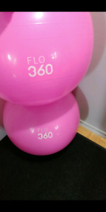 Exercise Balls. Fitness,core strength, fit, healthy and strong